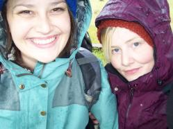 Hiking with the beautiful Ms. Sarah Stadnik