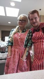 Volunteering to cook dinner at the RMCHC