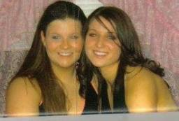My beautiful counsin Courtney Lynn Cody (RIP) & Shae Bruce